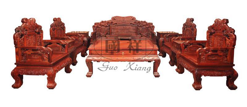 富贵牡丹沙发图片及家具信息